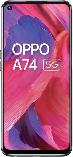 OPPO A74 5G BLACK (Fluid Black, 128 GB)