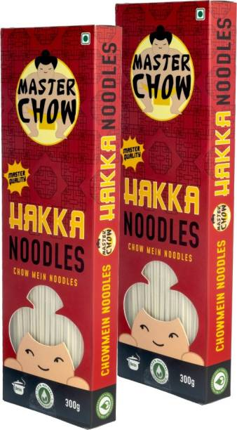 MasterChow Hakka Noodles Kit (Pack of 2) | No Artificial Color | Made in Small Batches | Fresh From the Kitchen | Get Restaurant Style Taste in Just 10 Minutes | Serves 4-5 Meals Hakka Noodles Vegetarian