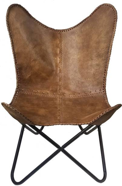 Craftec Impex Leather Cafeteria Chair