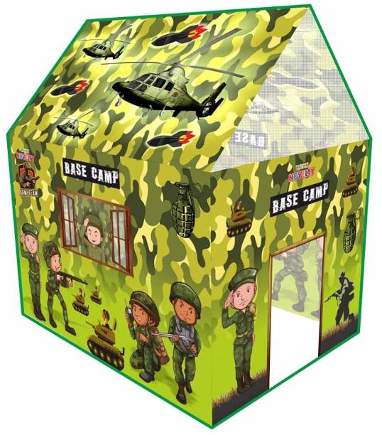 REEVA CREATION Military house Jumbo Size Light Weight & Waterproof | tent house for kids | tent house for kids 10 years