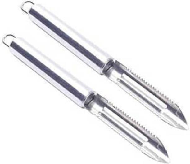 Rengvo Stainless Steel Peeler Vegetable Peeler Ultra Sharp Stainless Steel Peeler Straight Peeler Set