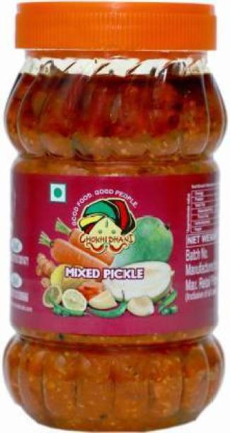 Chokhi Dhani Foods Mix Pickle 1 kg Mixed Pickle Mixed Vegetable Pickle