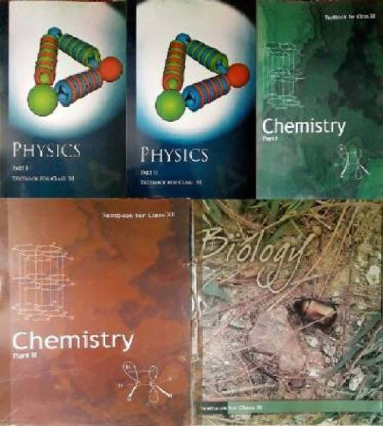 Physics Textbook Part - 1 And 2 , Chemistry Textbook Part - 1 And 2 , Biology Textbook For Class - 11 (Paperback, NCERT)