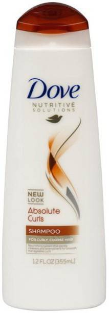 DOVE NUTRITIVE SOLUTIONS ABSOLUTE CURLS SHAMPOO IMPORTED