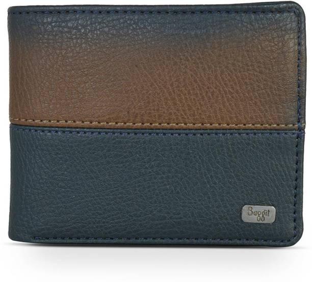 Baggit Men Casual Blue, Brown Artificial Leather Wallet