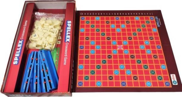 Ekta Toys spellex crossword 01 Educational Board Games Board Game