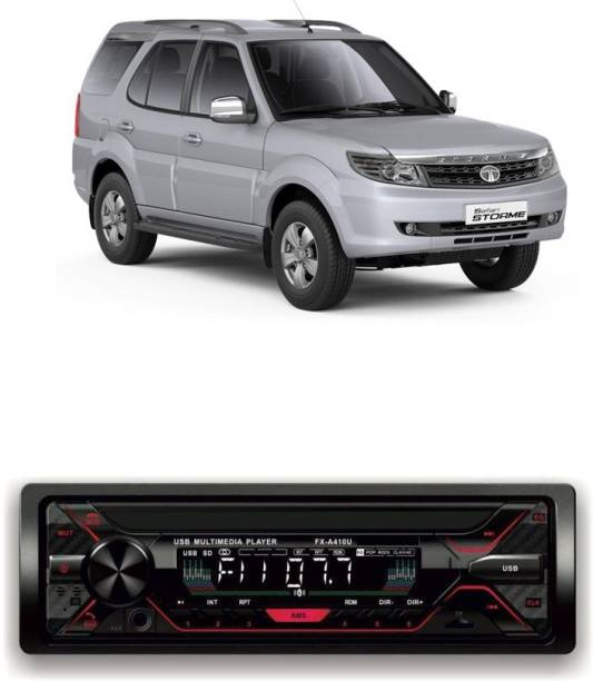 Genipap Car Stereo Sinle Din FX- A100U | car Music System | Car Stereo with Bluetooth, USB,SD Card , Aux 541 Car Stereo