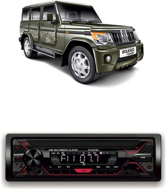 Genipap Car Stereo Sinle Din FX- A100U | car Music System | Car Stereo with Bluetooth, USB,SD Card , Aux 256 Car Stereo