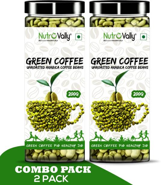 NutroVally Green Coffee Beans for Weight Loss/Fat Lose coffee Bean Instant Coffee