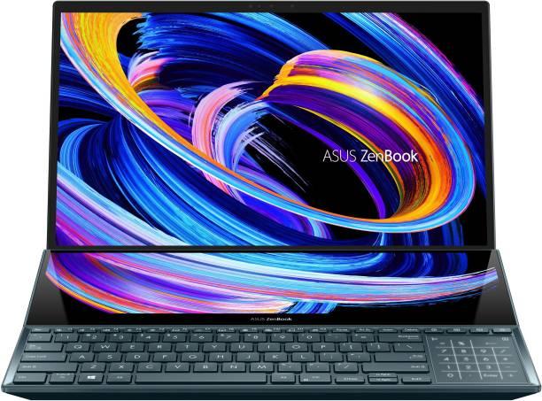 ASUS ZenBook Pro Duo 15 (2021) Core i9 10th Gen - (32 GB/1 TB SSD/Windows 10 Home/8 GB Graphics/Intel Integrated Iris Xe) UX582LR-H901TS Gaming Laptop