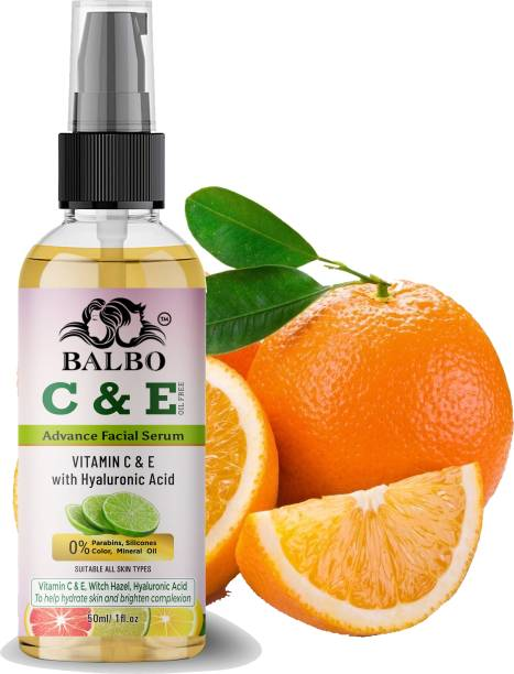 BALBO Vitamin C With Vitamin E Fairness Serum for a Brighter and Healthier Skin for all Type Skin