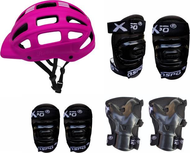Jaspo Sx 4 Protective Set Pink Skating Kit Skating Guard Combo