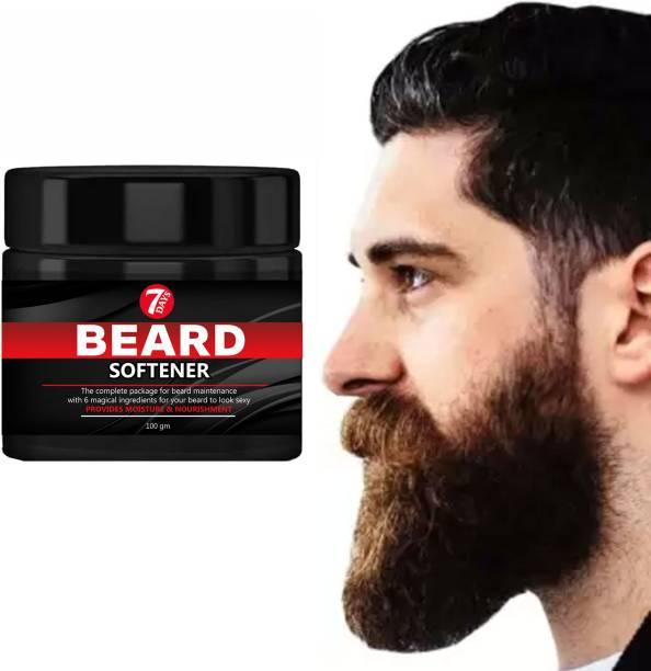 7 Days Beard Softener Cream Beard & Mustache Conditioner Beard Styling Cream Hair Cream