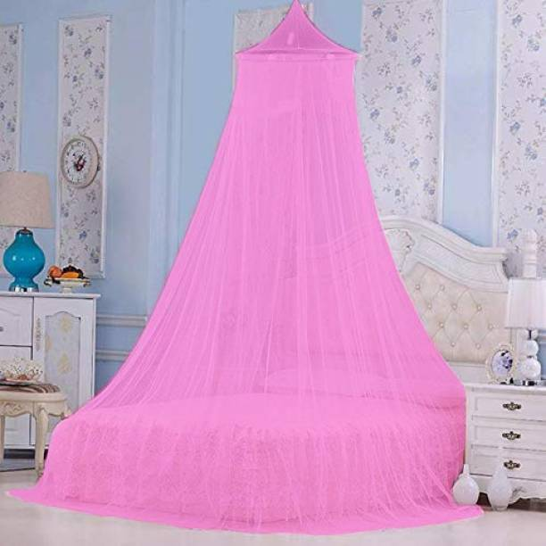Flipkart SmartBuy Polyester Adults Mosquito Net for Double Bed Round Mosquito Net