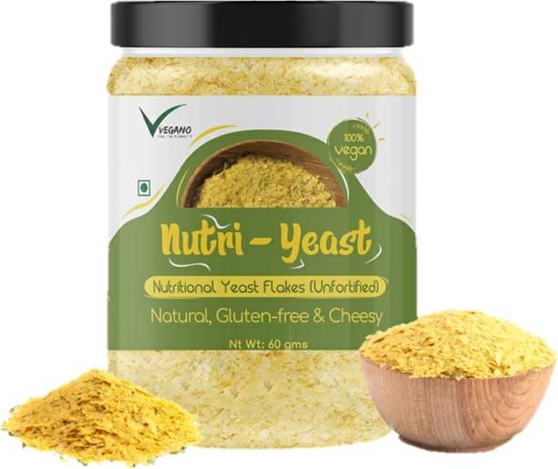 The Vvegano Store Vegan Unfortified Nutritional Yeast Flakes (60g)