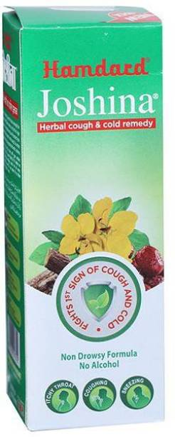 Hamdard Joshina Herbal Cough & Cold Remedy, Provide Effective relief from Cough and Sore throat(NO Alcohol)-100ml (PO-1)