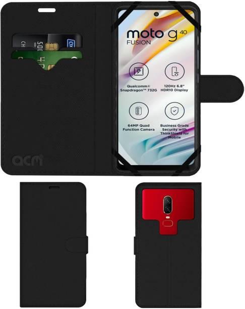 ACM Flip Cover for Motorola G40 Fusion