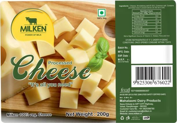 MILKEN Processed cheese Block