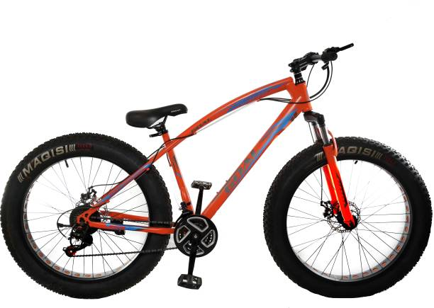 Goal MTB Pro_Orange Fat bike 26*400 tyre bicycle 26 T Fat Tyre Cycle 26 T Fat Tyre Cycle