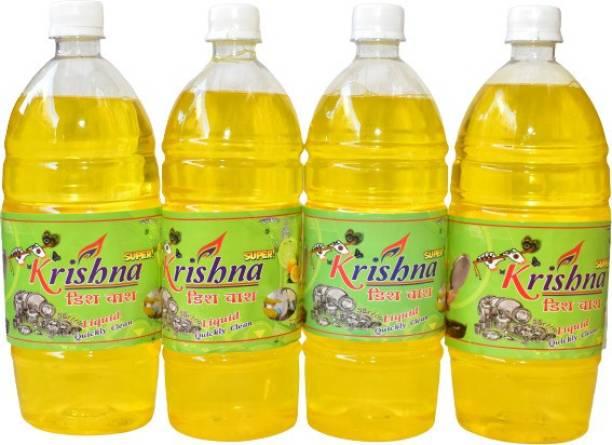 KRISHNA SUPER DISHWASH DISHWASH SUPER COMBO PACK 1X4 L Dishwash Bar