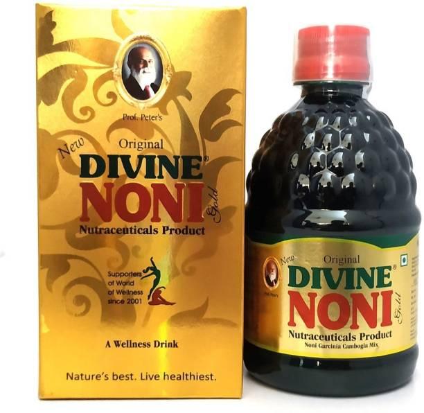 Divine Noni Juice Gold 400 ml, Noni Health Drink, Great Immune Booster