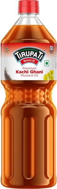 TIRUPATI Premium Mustard Oil Plastic Bottle