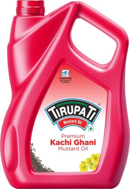 TIRUPATI Premium Kachi Ghani Mustard Oil Plastic Bottle