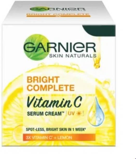 GARNIER bright complete vitamin C serum cream 3x vitamin C & lemon 45g