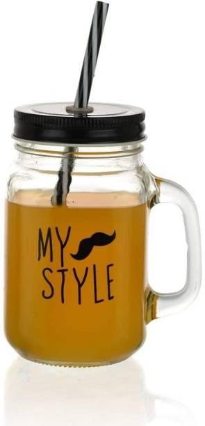 Satyam Kraft My Style Jar Glass Mason Jar