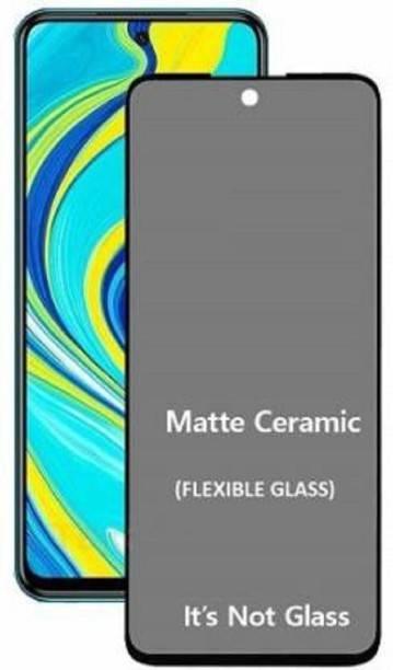 Techforce Edge To Edge Tempered Glass for Mi Redmi Note 9 Pro Max, Matte Screen Guard