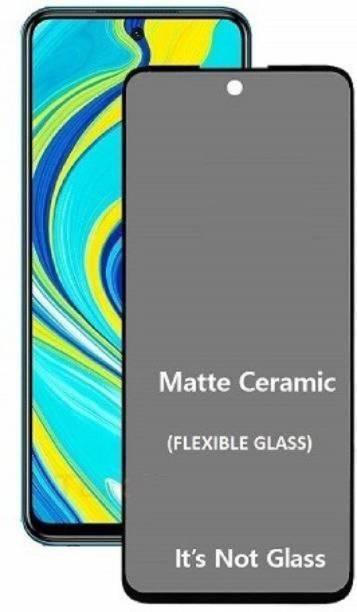 Techforce Tempered Glass Guard for Mi Redmi Note 10 Pro, Matte Screen Guard