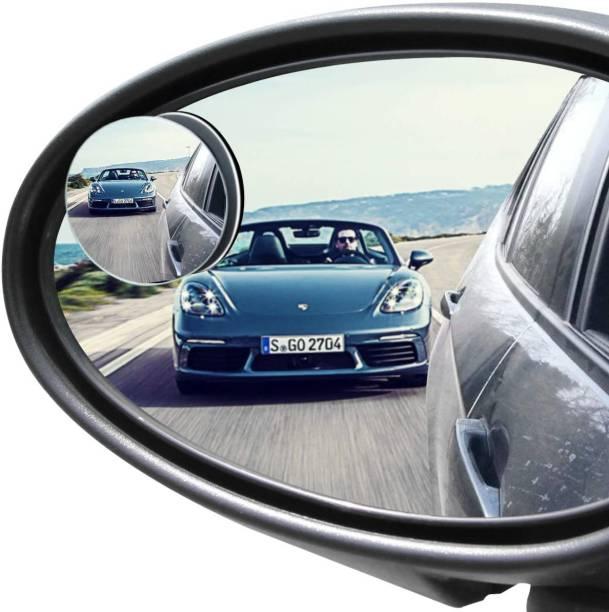 Welltech Manual Blind Spot Mirror For Mahindra, Volkswagen, Suzuki, Maruti Suzuki, Hyundai, Jaguar, Toyota, Renault, Nissan, Skoda WagonR, Swift Dzire, Santro, Indigo CS, i20 Elite