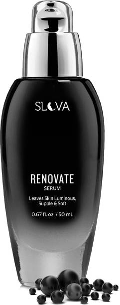 Slova RENOVATE Face Serum For Glowing Skin and Dark Circles With Caviar Extracts and Hyaluronic Acid - For All Skin Types