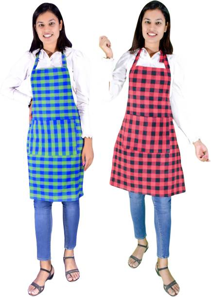 Glun Cotton Home Use Apron - Large
