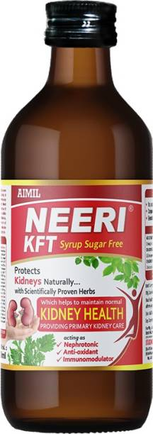 AIMIL NEERI KFT Sugar Free Syrup for Kidney Health | Improves Kidney Function Naturally (Pack of 1)