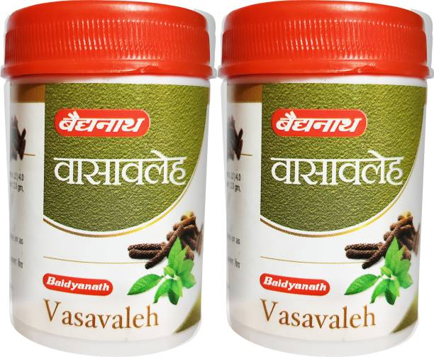Baidyanath Vasavaleh- An Ayurvedic Medicine | Useful in Respiratory Problems, Cough and Cold | Pack of 2