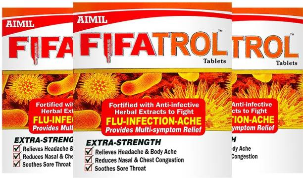 AIMIL Fifatrol Tablets Natural Immunity Booster For Stamina & General Wellness