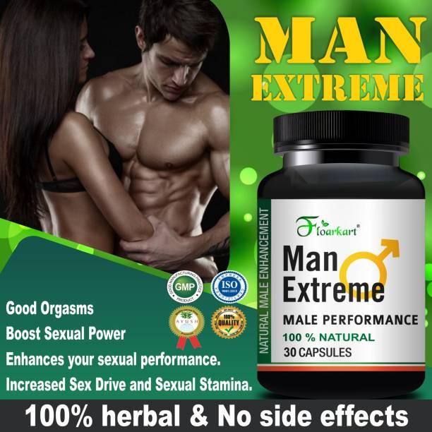 Floarkart Man Extreme Herbal Supplement For Helps in vigor & vitality 100% Ayurvedic
