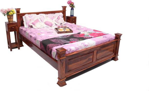 Induscraft Solid Wood King Bed