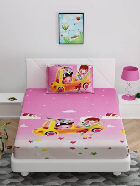 Bombay Dyeing 150 TC Cotton Single Cartoon Bedsheet