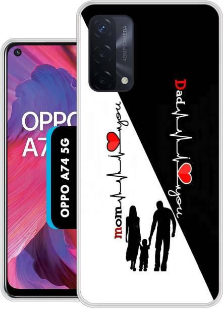 Dekhbuy Back Cover for Oppo A74 5G