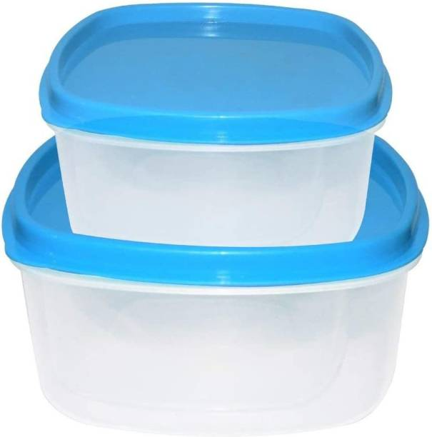 TruVeli Airtight Kitchen Storage Container for Multipurpose Use Set of 2  - 250 ml, 500 ml Plastic Grocery Container