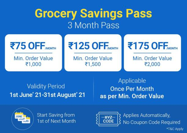 Grocery Savings Pass - 3 Months