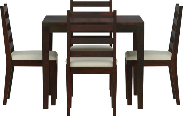 Induscraft Solid Wood 4 Seater Dining Set