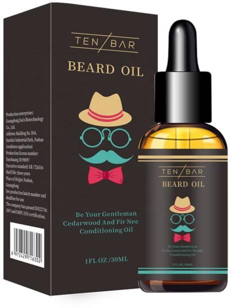 Tenbar Beard Growth Oil for strong and healthy beard growth  Hair Oil