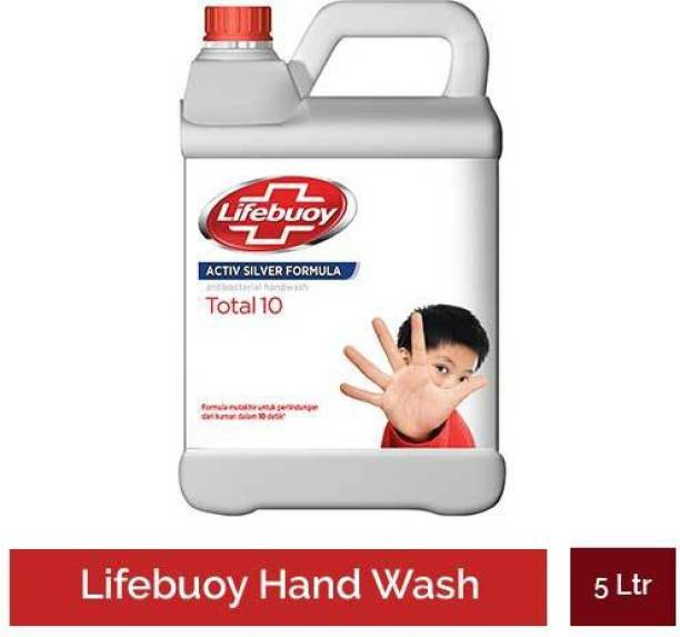 LIFEBUOY Total 10 Hand Wash 5 Ltr Hand Wash Can