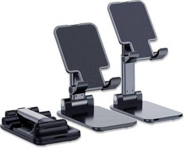 """SAFESEED Folding mobile stand holder - L13 [2021 Updated] Angle & Height Adjustable Desk Cell Phone Holder Anti-Slip Compatible with Smartphones/iPad Mini/Game/Kindle/Tablet(4-10"""") Mobile Holder"""