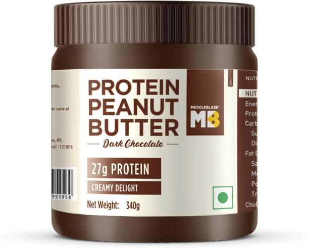 MuscleBlaze High Protein Peanut Butter Creamy 340 g