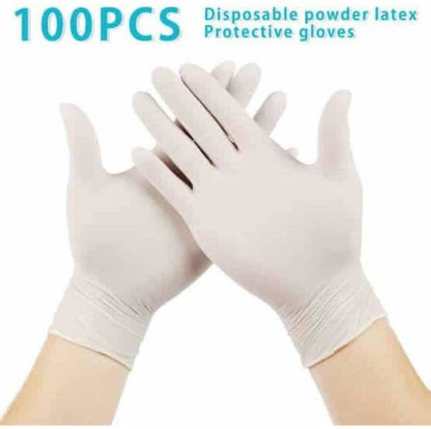 Accezory Latex Examination/Surgical Gloves, Safety Gloves, Hand Gloves, DIS6276 Latex Surgical Gloves