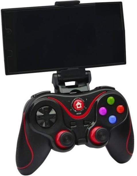 Clubics V8 Wireless Kids Gaming controller Compatible with IOS, Android, PC,PS3,TV (BLACK)  Motion Controller